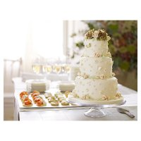Fiona Cairns Vintage Fairytale 3-tier Wedding Cake (Fruit)