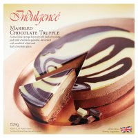 Indulgence marbled chocolate truffle