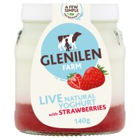 Glenilen Farm strawberry yoghurt