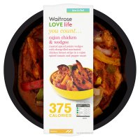 Waitrose Love life cajun chicken & wedges