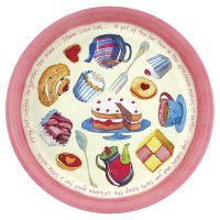Emma Ball Teatime tin tray