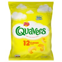 Quavers cheese multipack crisps