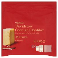 Waitrose Davidstow Cornish Cheddar Mature
