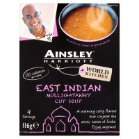 Ainsley Harriott mulligatawny cup soup, 4 servings