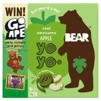 Bear pure fruit apple yo yos