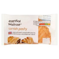 essential Waitrose Cornish pasty