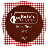 Kate's kitchen pork liver pâté