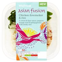 Waitrose Asian fusion chicken firecracker & rice