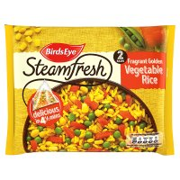 Birds Eye 2 fragrant golden vegetable rice frozen