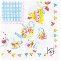 Waitrose 33cm tea time napkins