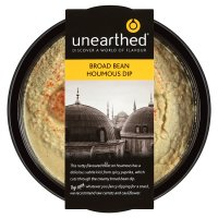 Unearthed broad bean houmous dip