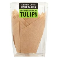 Waitrose Cooks' Homebaking tulip wraps