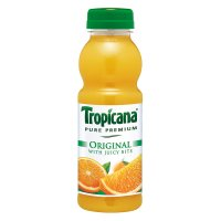Tropicana original orange juice with juicy bits