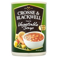 Crosse & Blackwell hearty vegetable soup