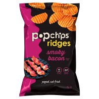 Popchips Ridges Smoky Bacon