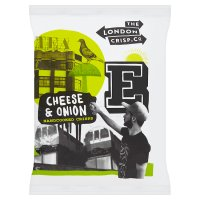 The London Crisp Co Cheese & Onion