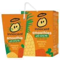 Innocent kids smoothie fruit&carrot