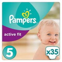 Pampers Active Fit 5 Essential 35 Nappies