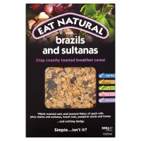 Eat Natural brazils & sultanas breakfast cereal