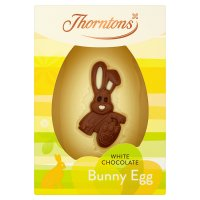 Thorntons White Chocolate Egg