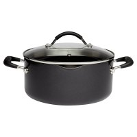 Waitrose Cooking Aluminium Stockpot & Lid