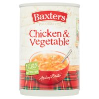 Baxters favourites chicken & vegetables