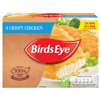 Birds Eye 4 crispy chicken