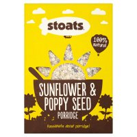 Stoats sunflower & poppy seed porridge