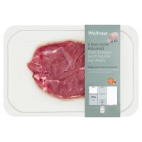 Waitrose New Zealand lamb 2 topside leg steaks