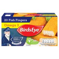 Birds Eye 20 fish fingers