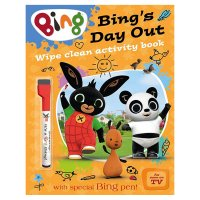 Bing's Day Out Wipe Clean Activity Book