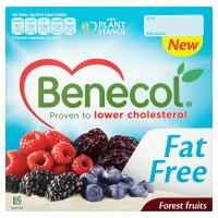 Benecol fat free yogurt forest fruits