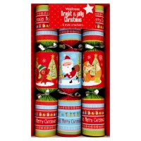Waitrose Christmas bright jolly crackers