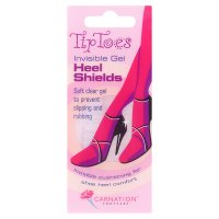 Carnation Tip Toes heel shields