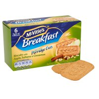 McVitie's breakfast apple & cinnamon