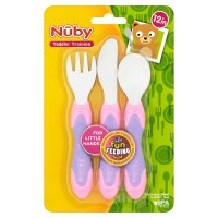 Nûby stainless steel assorted cutlery