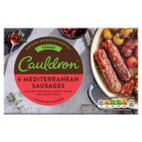 Cauldron 6 Vegan Sausages
