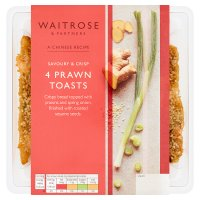 Waitrose 4 prawn toasts