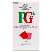 PG Tips Raspberry & Apple 10 Capsules