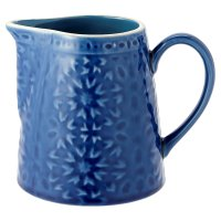 Waitrose Riad Reactive Crackle Glaze Jug