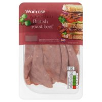 Waitrose British wafer thin roast beef