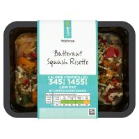 Waitrose LoveLife Calorie Controlled butternut squash risotto