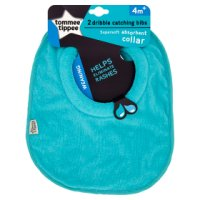 Tommee Tippee explora dribble bib, pack of 2, assorted