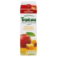 Tropicana apple creations apple & pineapple