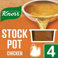 Knorr chicken 4 pack stock pot