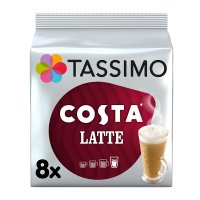 Tassimo Costa latte 8 extra large cups