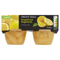 Trout Hall grapefruit segments in fruit juice