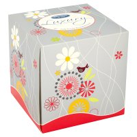Bloomsbury & Tate luxury facial tissues decorated