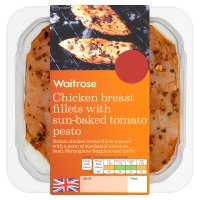 Waitrose British chicken breast in tomato pesto