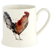 Waitrose Stoneware Cockerel Mug